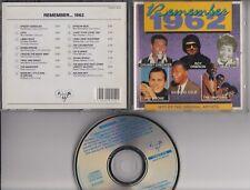 REMEMBER 1962 CD FUN RECORDSRoy Orbison Pat Boone Little Eva Dion Ricky Nelson
