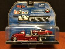 Maisto 1/64 Elite Transport CS Tow Truck & '67 Ford Mustang GT EM2718