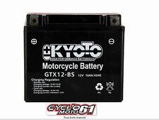 Batterie moto kyoto YTX12-BS Suzuki GSXR 1000 2001 2002 2003 2004