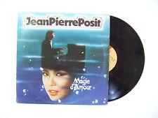 Jean-Pierre Posit – Magie D'Amour - Disco Vinile 33 Giri LP Album Stampa ITALIA