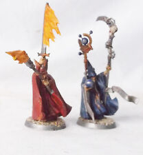 Warhammer Fantasy-Age of Sigmar Empire Battle Wizards/Battle Mage Custom Pizazz
