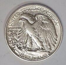 1941 S 50C Walking Liberty Silver Half Dollar AU (A-22)