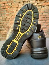 Men's  Shoes Boots Leather For Work Safety Dunlop