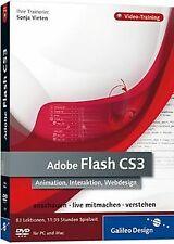 Adobe Flash CS3. Animation, Interaktion, Webdes... | Software | Zustand sehr gut