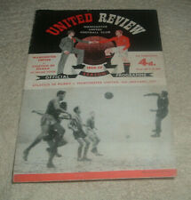 MANCHESTER UNITED v ATLETICO DE BILBAO European Cup Played at Maine Rd 56/57