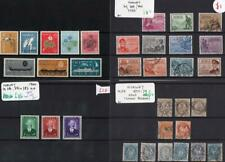 NORWAY: 1877-1946 Collection of Used & Unused Examples - 8 Stock Cards (33373)