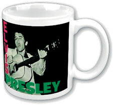 Brand New Elvis Presley The King Of Rock Official Boxed Ceramic Coffee Mug