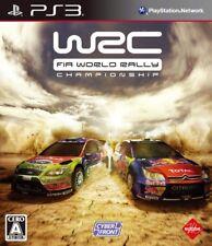 USED PS3 WRC FIA World Rally Championship