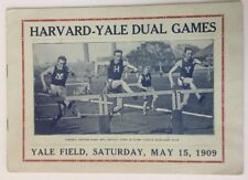 1909 Harvard vs Yale Dual Games Track And Field Yale Field