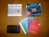SNK NEO GEO POCKET ANTHRACITE CONSOLE -  BOXED + MANUAL - FREE UK POST