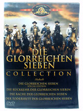 Die glorreichen Sieben Collection - Rache + Rückkehr + Todesritt - Yul Brynner