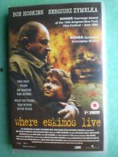WHERE ESKIMOS LIVE  (BOB HOSKINS)    -  BIG BOX ORIGINAL RARE  DELETED