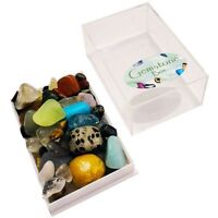 Collection Box of Small Gemstones
