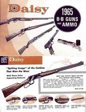 Daisy 1965 BB Guns Catalog