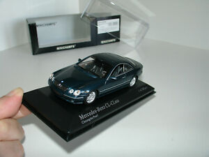 1/43 MERCEDES-BENZ CL 500 1999 GREEN METALLIC by MINICHAMPS