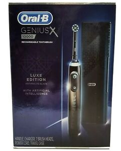 Oral-B Genius X 10000 Luxe Edition Electric Rechargeable Toothbrush✅‼️🌟SEALED