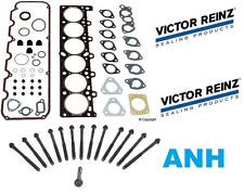 oem Victor Reinz Head Gasket Set & 14-Pieces Head Bolts BMW E30 325e E28 528e