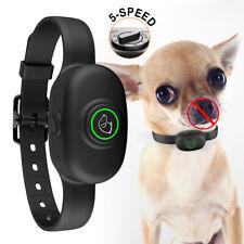 Waterproof Anti Bark Small Dog Training Shock Collar No Bark Rechargeable Collar