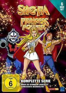 She-Ra - Princess of Power - Die komplette Serie [6 DVD's/NEU/OVP] 33 Stunden