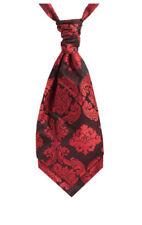 Cravatta foulard da uomo rossi annodato
