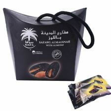 Premium Safawi Dates filled With Almonds Fresh 100% Finest Quality 115g FREE P&P