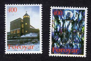Faroe Islands: Christmas 1995; complete unmounted mint (MNH) set