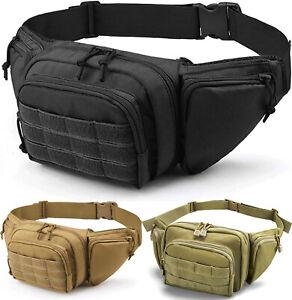 Concealed Carry Fanny Pack Holster Tactical Pistol Waist Pack Bag Gun Holster US