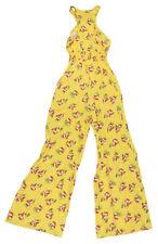 Jill Stuart Floral Print Zipper Front Sleeveless Jacquard Women's Jumpsuit NWT