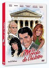 "DVD NEUF ""LA MORALE DE L'HISTOIRE"" Daniel GELIN, Dalida, Bernadette LAFONT"