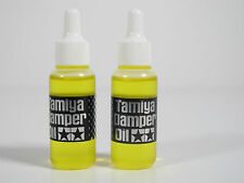 NEW 2 bottle TAMIYA MODEL KIT TOOL RC Damper suspension shock Oil 0.9cc