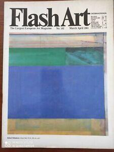 Flash Art International N 102 1981
