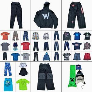 Lot 45 Boys Clothing Bundle Size Large 10-12 Tops Shirts Pants Shorts Outfits
