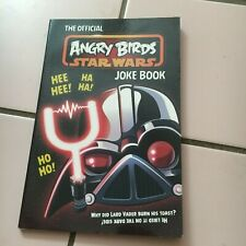 THE OFFICIAL ANGRY BIRDS, STAR WARS JOKE BOOK. 9781405273596