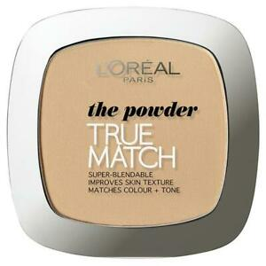L'Oreal Paris True Match Perfecting Powder - 3.W Golden Beige