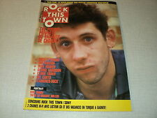ROCK THIS TOWN 57 (4/88) THE POGUES IRON MAIDEN IRON MAIDEN GEORGE HARRISON