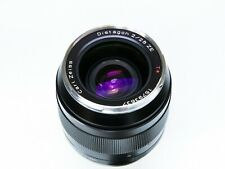 Carl Zeiss Distagon T* 28mm f2 ZE Canon EF Mount w/ Hood & UV Filter - Near Mint