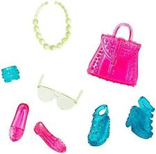 Barbie Fashionistas Accessory Pack Shoes Purse Jewelry Fashions New