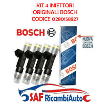 KIT 4 INIETTORI METANO BOSCH FIAT MULTIPLA (186) 1.6 NATURAL POWER BIPOWER