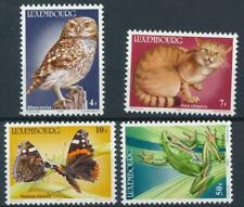 [315376] Luxembourg 1985 Fauna good set of stamps very fine MNH