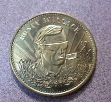 Vtg RUSTY WALLACE 1997 Limited Edition Pinnacle Mint Racing Token Coin