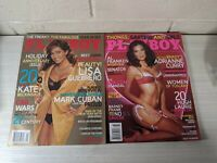 2 Playboy Lot January & February 2006 Lisa Guerrero Adrianne Curry