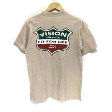 Vintage 1987 VISION STREET WEAR Skateboard Tee Shirt Fit Logo Powell Peralta