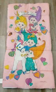 Vintage Troll Magic Trolls Sleeping Bag 1992 Applause Pink Kids Childs Plush