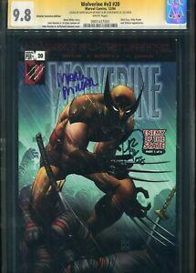 Wolverine#v3 #20 CGC 9.8 Retalier incentive Edition SS Mark Miller+1