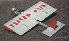 Wild Weasel 1/2A Aerobatic Sport/Combat Plane Plans,Templates, Instructions 24ws