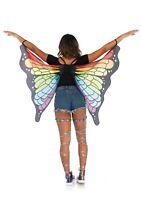 Leg Avenue A2789 Rainbow Butterfly Wings mardi gras gay pride festival dance fun