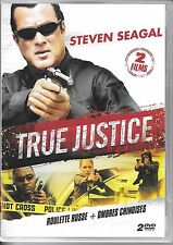 COFFRET 2 DVD COLLECTOR--TRUE JUSTICE / ROULETTE RUSSE + OMBRES CHINOISES-SEAGAL