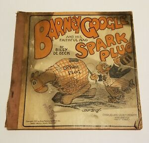 1923 Barney Google and Spark Plug Comic By Billy De Beck King Features Syndicate
