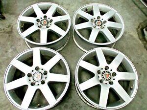 4 x Alufelge Platin RP3 6,5x16 ET50 5x112 KBA 47442 Felge 6516 Audi Seat VW Ford