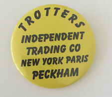 Only Fools and Horses Trotters Independent Trading 50mm Pin Button Badge